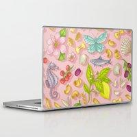 pasta Laptop & iPad Skins featuring Pasta Pasta! by Lidija Paradinović Nagulov - Celandine