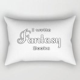 I Write Fantasy Rectangular Pillow