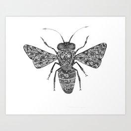 Savannah Bee Art Print