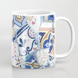 Gaudi Park Guell Mosaic Coffee Mug