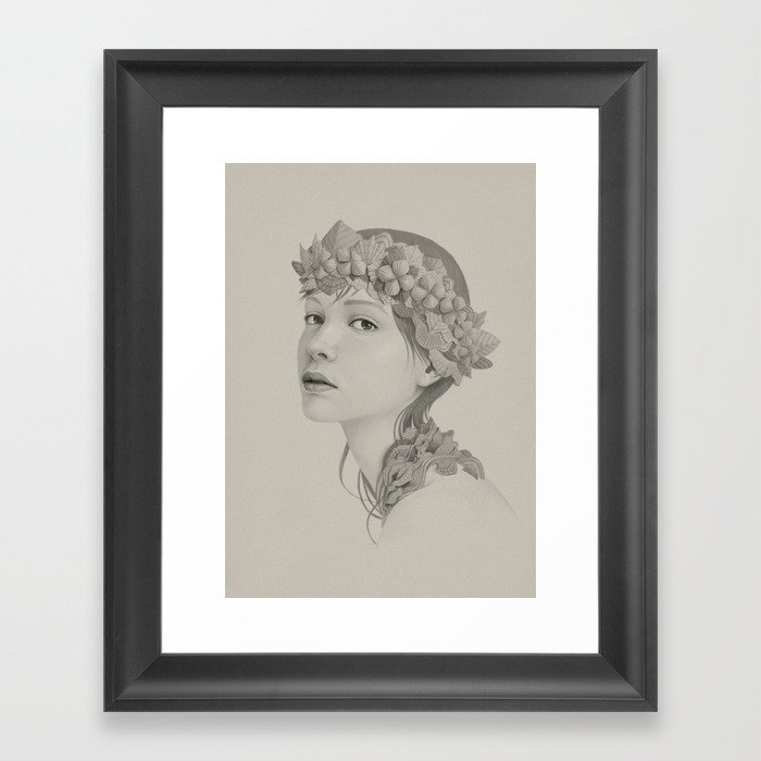 225 Framed Art Print