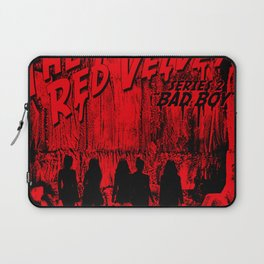 "The Perfect Red Velvet ""Bad Boy"" Laptop Sleeve"