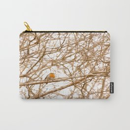 Robin In Early Spring #decor #society6 #buyart Carry-All Pouch
