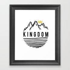 Kingdom Big Sur Print Framed Art Print