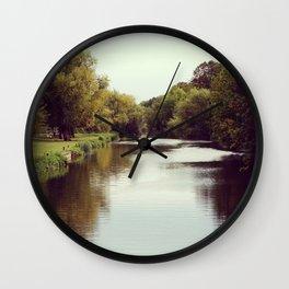 Vintage riverside Wall Clock