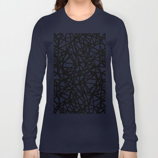 Ab Upside down Black Long Sleeve T-shirt