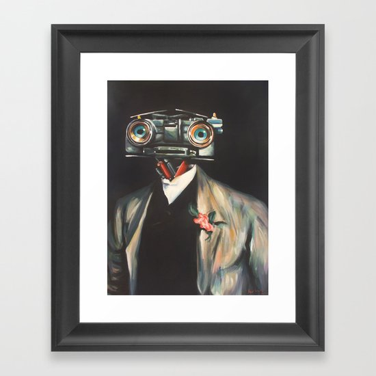 Johnny V, Esq. Framed Art Print