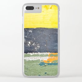 Buoy Patina Clear iPhone Case
