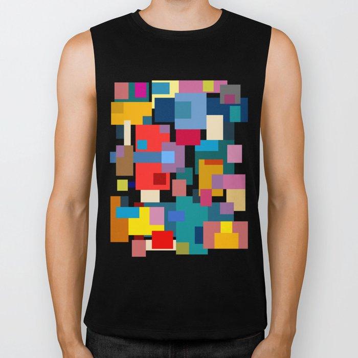 Color Blocks #6 Biker Tank