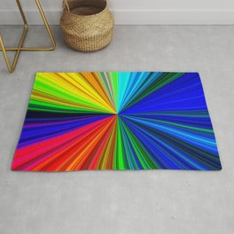 Colours of a Rainbow Rug