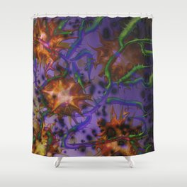 The Landscape of Hate Shower Curtain