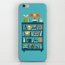 Mario Shelf iPhone Skin