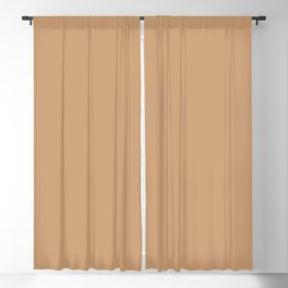 When Mail had Meaning ~ Butterscotch Khaki Blackout Curtain