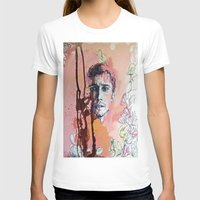 james franco T-shirts featuring James Franco by Katarzyna Typek