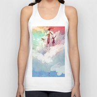 fly Tank Tops featuring FLY by Javier G. Pacheco