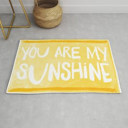 My Sunshine Love Rug