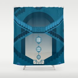 Citadel - The twilight city Shower Curtain