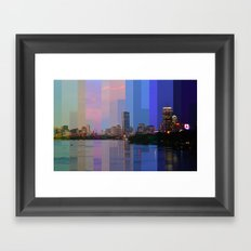 Boston Timelapse 060214 Framed Art Print