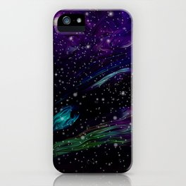 Inhabited space iPhone Case