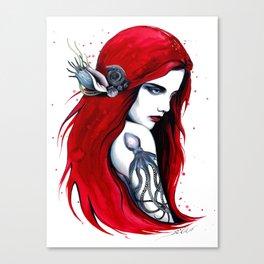-City Ariel- Canvas Print