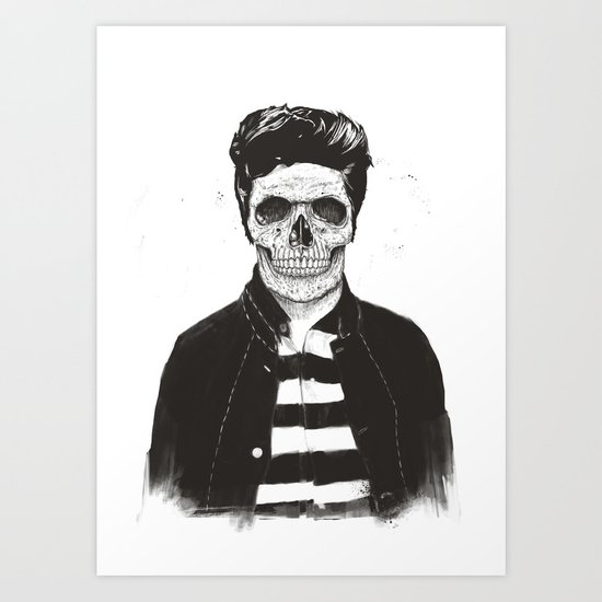 Death fashion Art Print