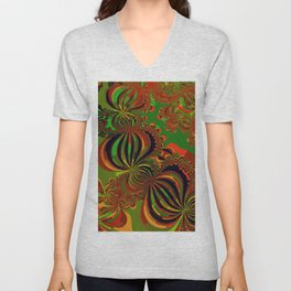 braid and hair and knots Unisex V-Neck