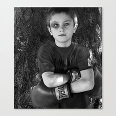 lil' fighter Canvas Print