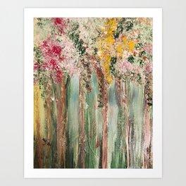 Woods in Spring Art Print