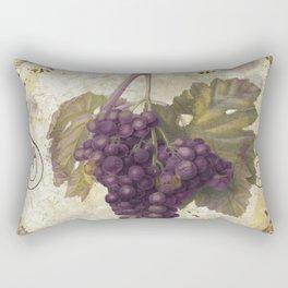 Tuscan Table Merlot Rectangular Pillow