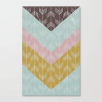 arrows Canvas Prints featuring arrows by Emma S