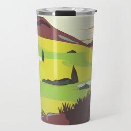 'For Golf' Northern Ireland Travel poster Travel Mug