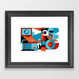 Creative Technologies Framed Art Print