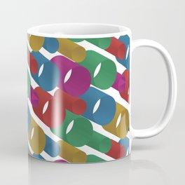 3D X Pipes Coffee Mug
