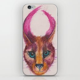 Ink Animals of Africa - Chobe Caracal iPhone Skin