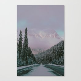 North Cascades Highway Canvas Print