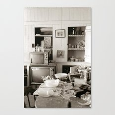chester kitchen Canvas Print