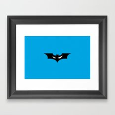 Batman_02 Framed Art Print