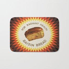 Vintage poster - Raisin bread Bath Mat