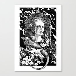 Initiation Canvas Print