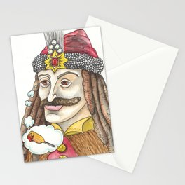 Vlad the Impaler Stationery Cards