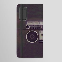 Retro Boombox Android Wallet Case