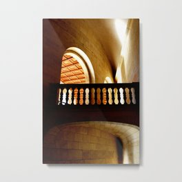 Stone Bride and Archway Metal Print