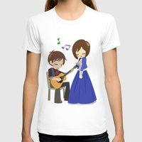 bioshock infinite T-shirts featuring Bioshock Infinite - Booker and Elizabeth by Choco-Minto