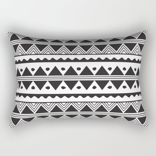 African Tribal Pattern No. 2 Rectangular Pillow