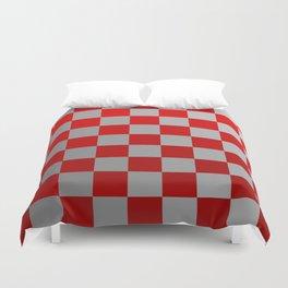 Checkerboard Ombré Duvet Cover