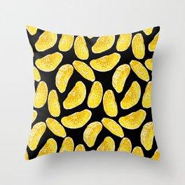 Citrus mandarin slices Throw Pillow