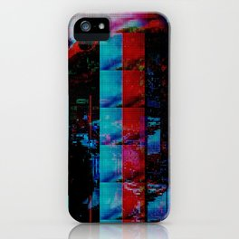 Face of a thousand Voices iPhone Case