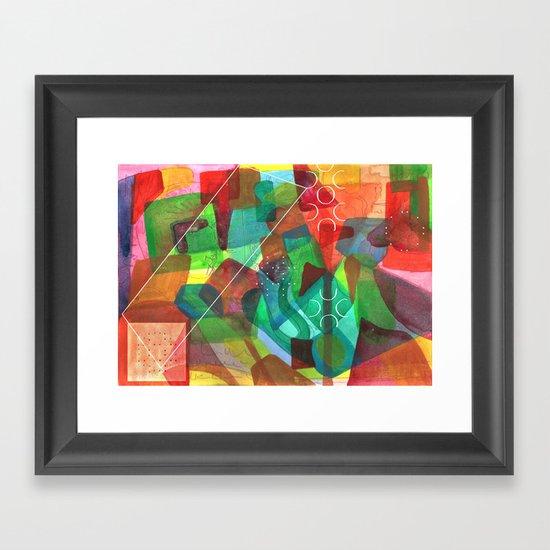 Enav Framed Art Print