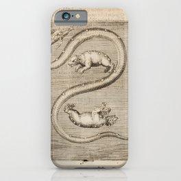 Hugo de Groot's Syntagma Arateorum 1600 - 01 Ursa Major, Ursa Minor & Draco iPhone Case