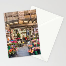 Flowers Seller, Martin Place Sydney Stationery Cards